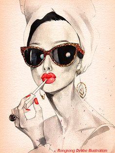 Custom Celebrity illustration Custom by RongrongIllustration, $100.00…