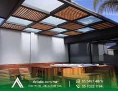 Modern Pergola Designs, Backyard Patio Designs, Modern House Design, Rooftop Terrace Design, Terrace Garden, Outdoor Pergola, Outdoor Decor, Backyard Kitchen, Cottage Renovation