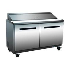Maxx Cold X-Series 12 cu. ft. Two Door Sandwich Maker Refrigerator in Stainless Steel