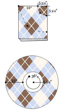 WhatTheCraft.com - TUTORIALS - circle skirt, pixie skirt, flounce hems
