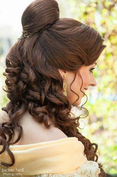 disney belle hairstyles - Google Search