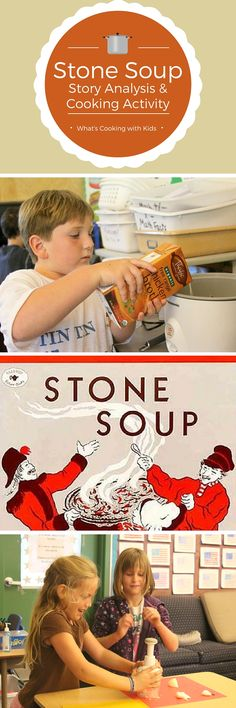 Stone Soup: Story Analysis and Cooking Activity, ideal for grades 1-3