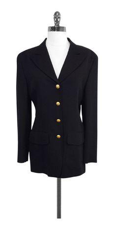 Gucci Black Wool Jacket