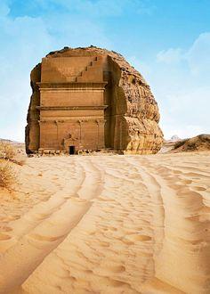 Mada'in Saleh, Al Madinah Region, Saudi Arabia :: II - III century
