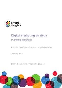 Free Digital Marketing Plan Template  Slides  Linkedin