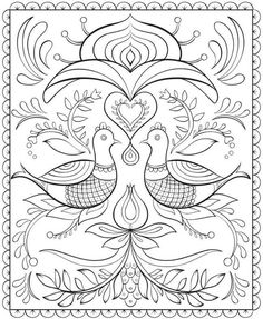 Nordic Designs Coloring Book Amazoncom Creative Haven Deluxe Edition ...