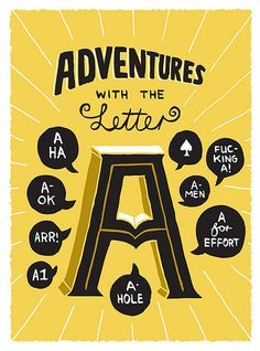 Adventures with the Letter A | Von Brandis