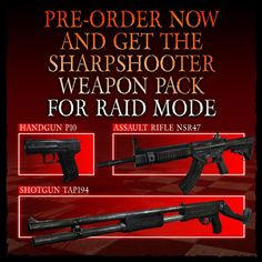 Resident Evil 2 Revelations Next Gen PS4 & Xbox One. Pre-order sharpshooter weapon pack for Raid Mode.