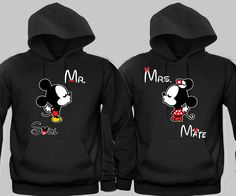 30 Cutest Matching Couples Hoodies (Cute Couples Hoodies) Discover some cute couples hoodies that will make you and your partner look adorable. We have featured heaps of the cutest matching couples hoodies ever! Cute Couple Hoodies, Matching Hoodies For Couples, Couple Tees, Matching Couple Outfits, Cool Hoodies, Cute Couple Quotes, His And Hers Hoodies, T Shirt, Graphic Sweatshirt