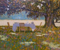 Lunch in the Shade, Mike Hall