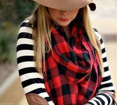 Red Plaid Scarf Chiffon Scarf Spring Scarf Autumn Scarf Oversize Scarf Lightweight Scarf Gift For Her Mother& Day gift Buffalo Plaid Scarf, Red Plaid Scarf, Plaid Scarf Outfit, Wool Scarf, Fall Winter Outfits, Autumn Winter Fashion, Winter Wear, Tartan, Look 2015
