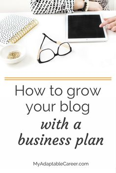 Do you have a business plan for your blog? If not, click through and read this post ASAP. It explains WHY you need a business plan and HOW a business plan will help you grow your blog strategically.