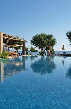Hotels Around The World. Holiday preparation is enjoyable and straightforward so you have no need to get overwhelmed. To begin with I want you to do would be to take a deep breath and do not fear. Crete Greece, Romantic Places, Do Not Fear, Beach Hotels, Greek Islands, Places To Visit, Villa, Around The Worlds, In This Moment