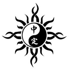 Cool Tribal Yin Yang Tattoo Clip: Real Photo, Pictures, Images and ...