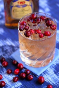 whisky and cranberry