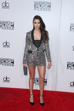 Nina Dobrev - Candids Attending the 2016 American Music Awards at the Microsoft Theatre, Los Angeles November 20th 2016