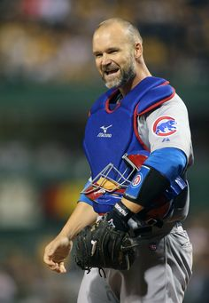 super crush on this hottie! David Ross Cubs, Mlb Teams, Sports Teams, Chicago Cubs World Series, Cubs Win, Baseball Players, Mlb Players, Go Cubs Go