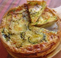 Discover recipes, home ideas, style inspiration and other ideas to try. Quiches, Omelettes, Cooking Light, Easy Cooking, Cooking Recipes, Veggie Recipes, Baby Food Recipes, Healthy Recipes, Salada Light