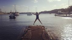 Insert inspiring quote!! #sydney #ilovesydney #waverton #wollstonecraft #harbour #water #beautiful #sightseeing #australia #jump #lowernorthshore #sun #langtravels #harbourside #exploring #explore