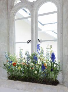 Minimalist Home Interior .Minimalist Home Interior Deco Floral, Arte Floral, Meadow Flowers, Wild Flowers, Ideas Prácticas, Decor Ideas, Meadow Garden, Church Flowers, Natural Home Decor