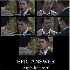 Hence why Cas is just so great.