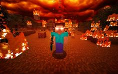 Another Minecraft submission! I'm always coming up with great ideas for Minecraft-related deviations. This time I wanted to do Herobrine. Minecraft 2014, Minecraft Mobs, Minecraft Party, Minecraft Skins, Minecraft Marvel, Minecraft Anime, Amazing Minecraft, Minecraft Crafts, Tutorials