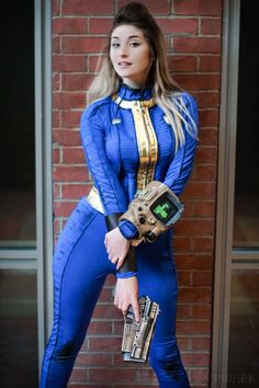 Vault Dweller from Fallout 4 Cosplayer: Byndo Gehk