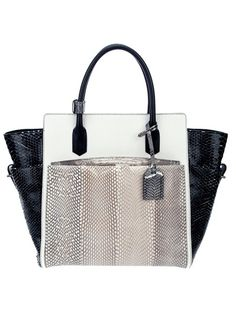White python bag from Reed Krakoff