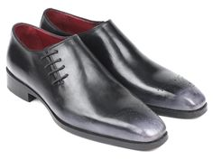 Latest from Paul Parkman: Paul Parkman Luxury Handmade Shoes Gray Burnished Side Lace Oxfords Material: Calf-skin Leather Color: Hand-painted Gray Mens Shoes Boots, Men's Shoes, Dress Shoes, Calf Leather, Leather Men, Coronado Leather, High End Shoes, Lace Oxfords, Purple Shoes