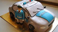 Torty ciasta i ciasteczka Joli: Radiowóz i Policjant
