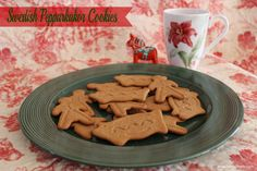 holiday desserts - Pepparkakor, one of my favorites!