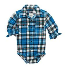 jcpenney.com | OshKosh B'gosh® Plaid Flannel Bodysuit