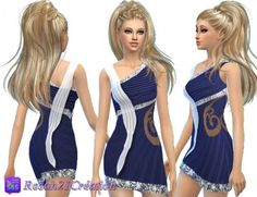 Les contes d helena: Evening party dress • Sims 4 Downloads