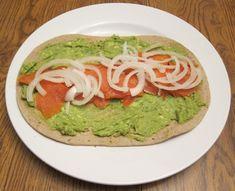 Smoked Salmon And Avocado Wraps Recipe