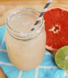 Grapefruit Margaritas! My favorite way to enjoy grapefruit!