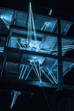 A Giant Glowing Star Installation by Jun Ong
