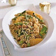 Quinoa Salad with Asparagus, Dates and Orange | CookingLight.com