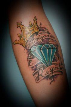 diamant krone tattoo tattoos pinterest kronen tattoo ideen und tattoo vorlagen. Black Bedroom Furniture Sets. Home Design Ideas