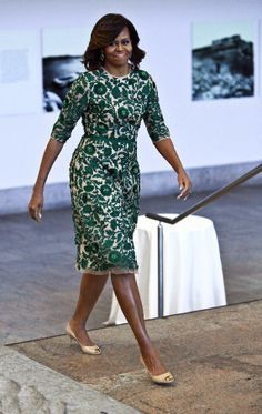 Michelle Obama + Anna Wintour  