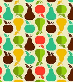 Novelty Cotton Fabric-Apples And Pears : novelty quilt fabric : quilting fabric & kits : fabric :  Shop | Joann.com 7.99