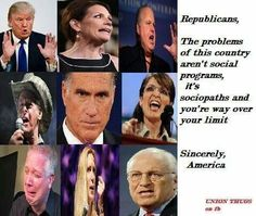 Wingnuts and teabaggers