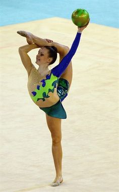 Spotlight: Frankie Jones - Rhythmic Gymnastics Slideshows   NBC Olympics