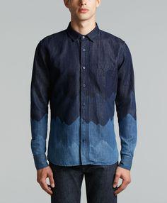 Levi's Classic Shirt - Denim Mountains - Shirt Shop