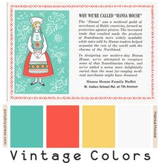 PonyBoy Press: Vintage Color Palettes - Hansa House