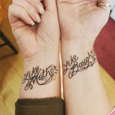 Image result for mother daughter matching tattoos