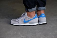 super popular 0ec8f 62f1c Nike Internationalist Matte Silver Blue Spark-Sail-Black - 828041-004