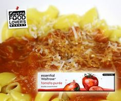 double concentrated tomato puree is the perfect addition to a delicious spaghetti bolognaise. Knysna, Type 1, Macaroni And Cheese, Spaghetti, Facebook, Ethnic Recipes, Photos, Food, Pictures