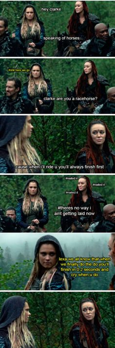 Clexa pick-up lines