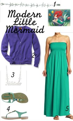Modern Disney Outfits -Modern Little Mermaid Ariel
