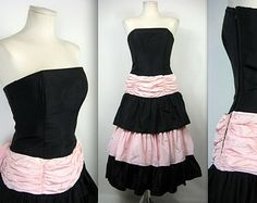 Popular items for 1980s prom dresses on Etsy